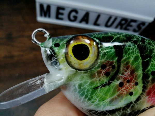 Rainbow Trout, MiniCrank, Megalures, Custom lures, fishing