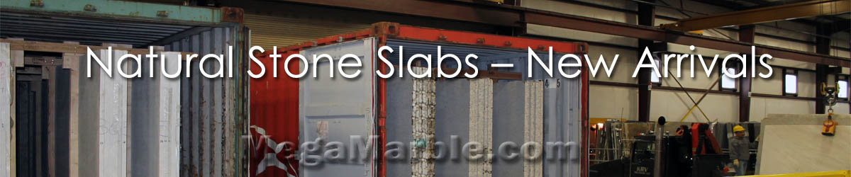 Natural Stone Slabs – New Arrivals