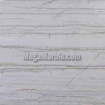 White Macaubas Polished Quartzite