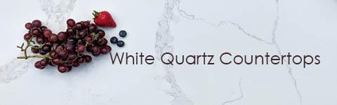 White Quartz Countertops NYC