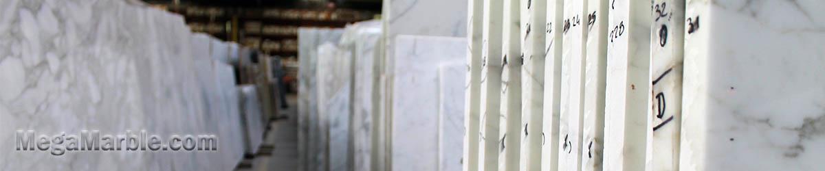 White Marble Slabs On Sale