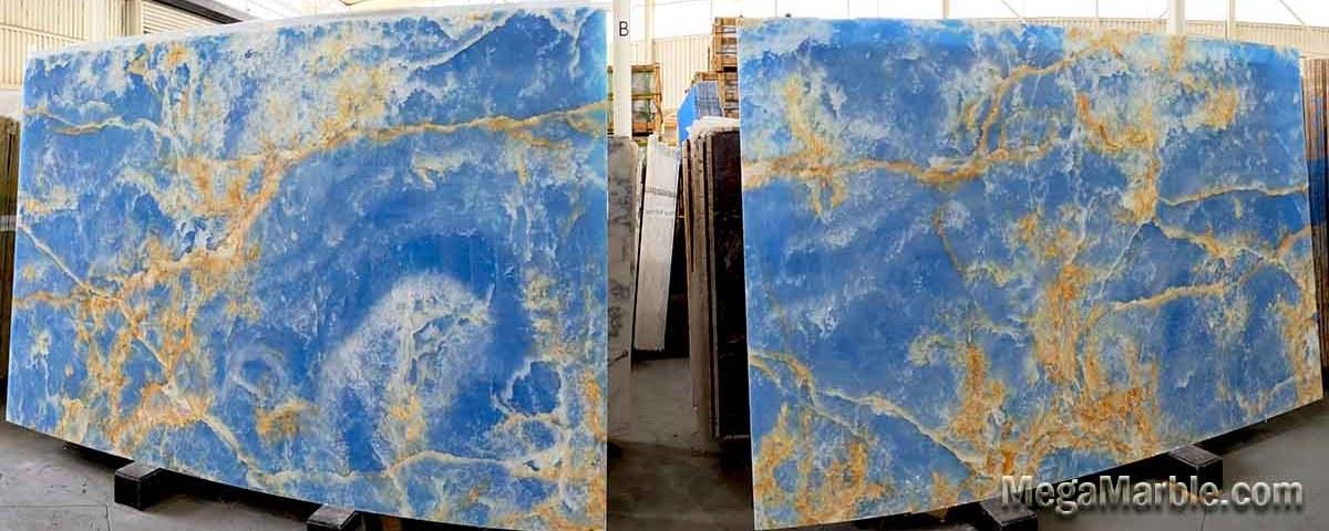 Blue Onyx Slabs