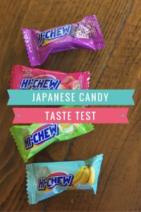 Japanese Candy Taste Test