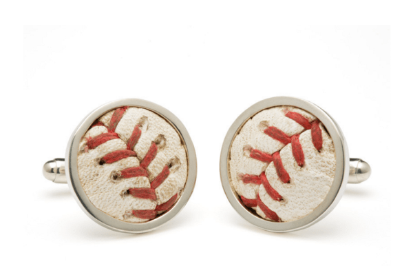 Baseball Cufflinks - Megan & Wendy Gift Guide 2015