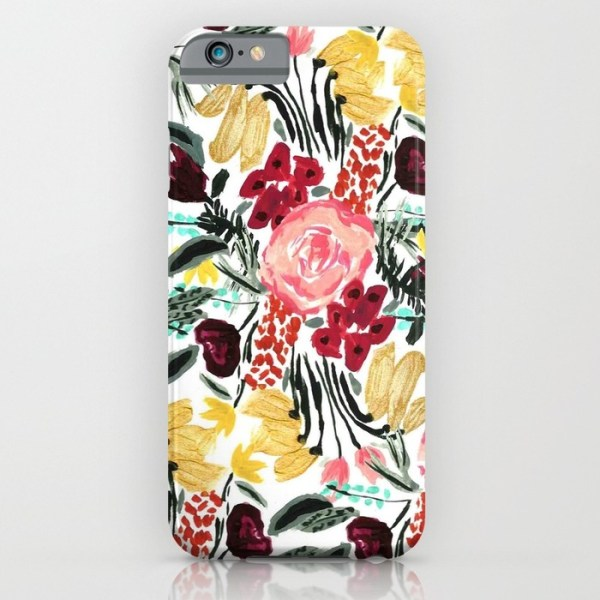 Society 6 Wild Garden iPhone Case - Megan & Wendy Gift Guide 2015