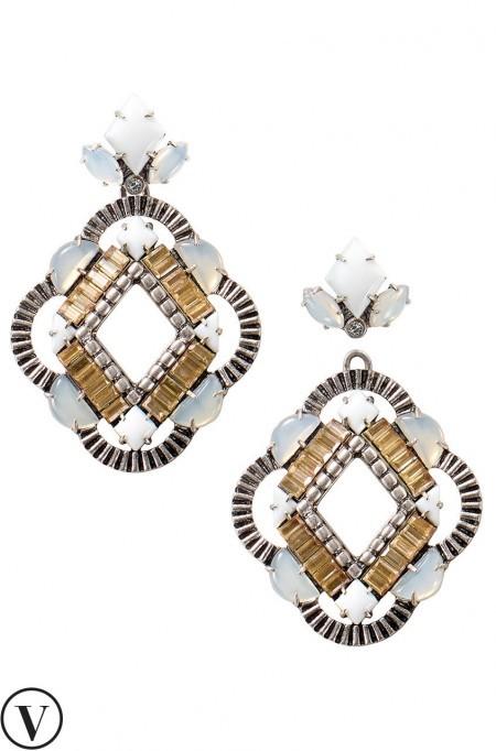 Stella & Dot Chandelier Earrings - Megan & Wendy Gift Guide 2015