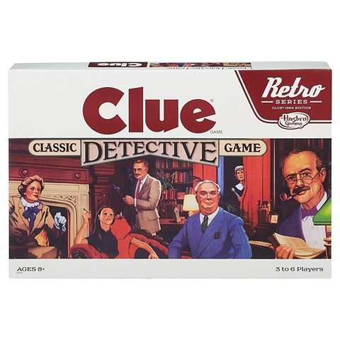 Retro Series Clue - Megan & Wendy Gift Guide 2015