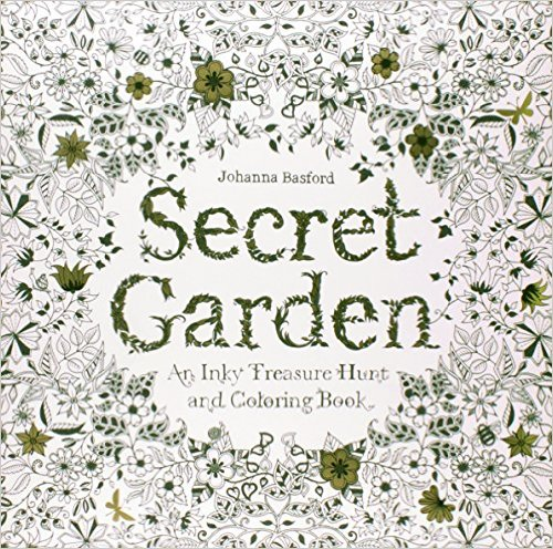 Secret Garden Coloring Book - Megan & Wendy Gift Guide 2015