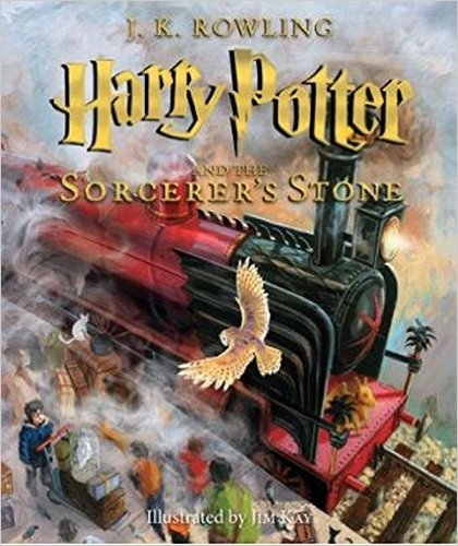 Illustrated Harry Potter and the Sorcerer's Stone - Megan & Wendy Gift Guide 2015
