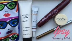 January Ipsy Glam Bag Reveal