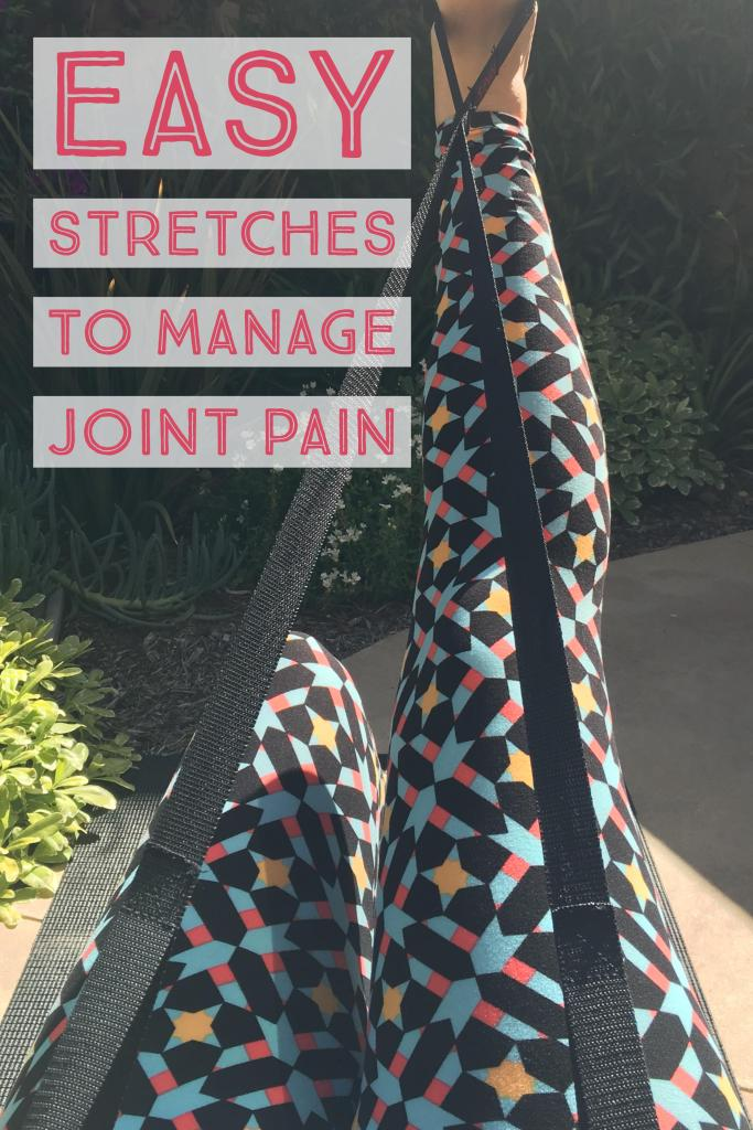 Easy Stretches to Manage Joint Pain #WhatInconvenience #ad