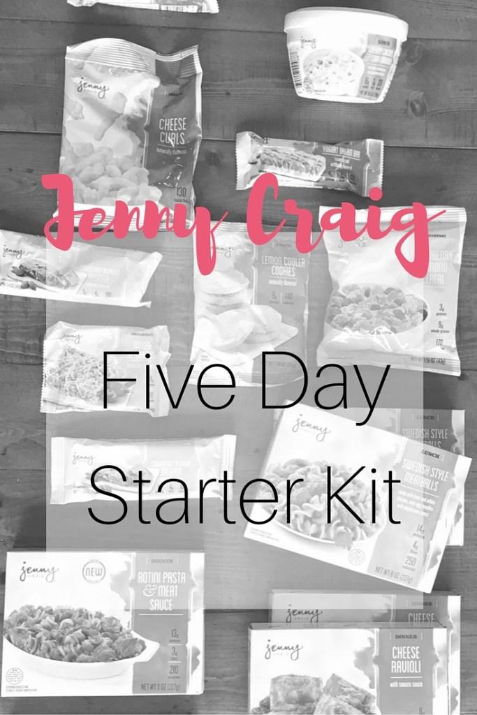 Jenny Craig Five Day Starter Kit