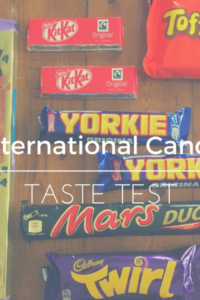International Candy Taste Test