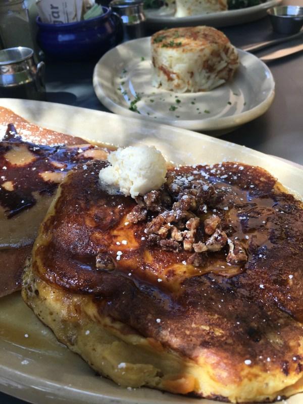 pancakes at Snooze