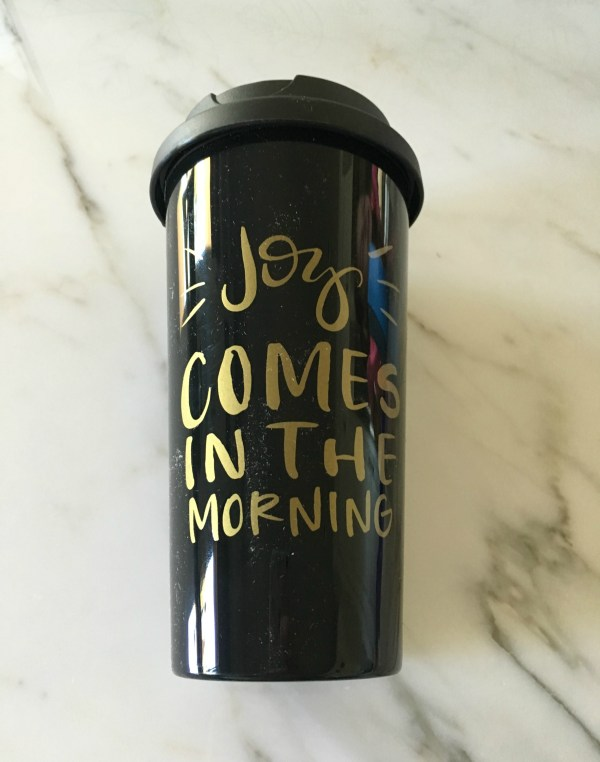 FabFitFun coffee mug