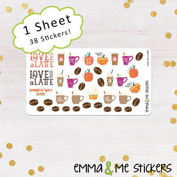 Fall Planner Sticker Roundup