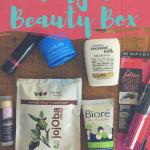 Target Beauty Box September 2016