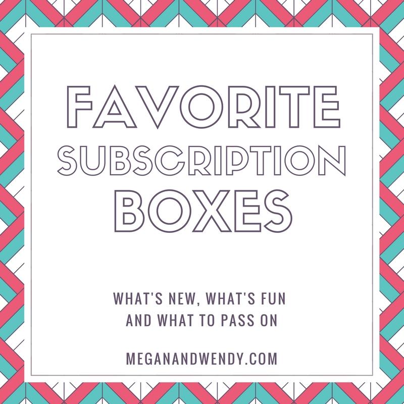 Favorite Subscription Boxes