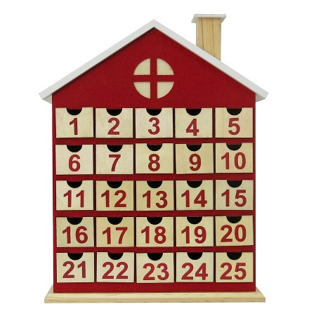 Wood House Advent Calendar