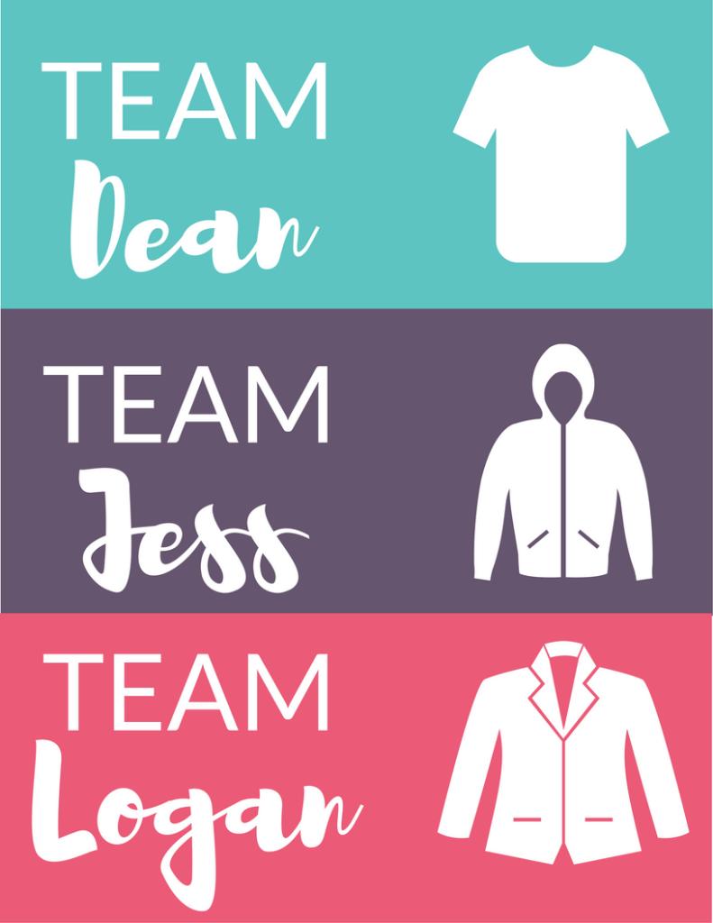 Team Dean/Team Jess/Team Logan Gilmore Girls Revival Watching Party