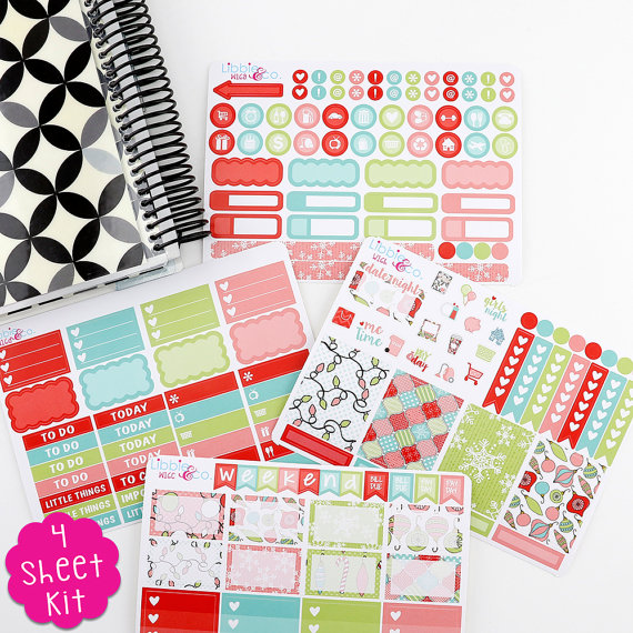 Libbie and Co Merry and Bright Weekly Kit