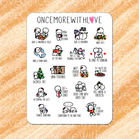 Once More With Love Winter Bucket List