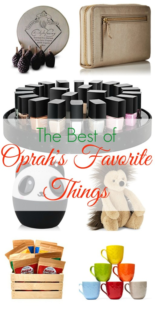 The Best of Oprah's Favorite Things for 2016
