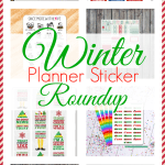 Winter Planner Sticker Roundup