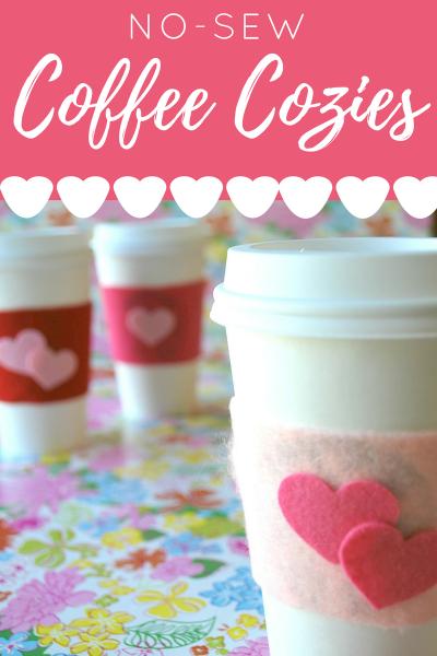 No-Sew Coffee Cozy