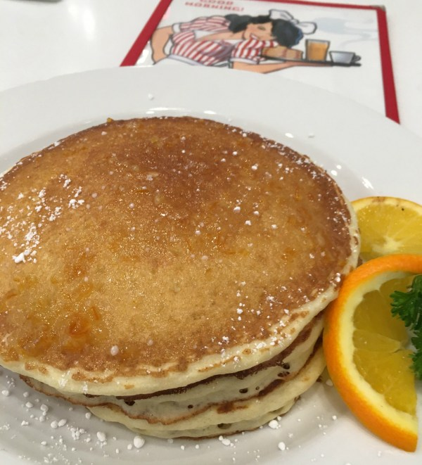 50/50 Pancakes at Ruby's Diner