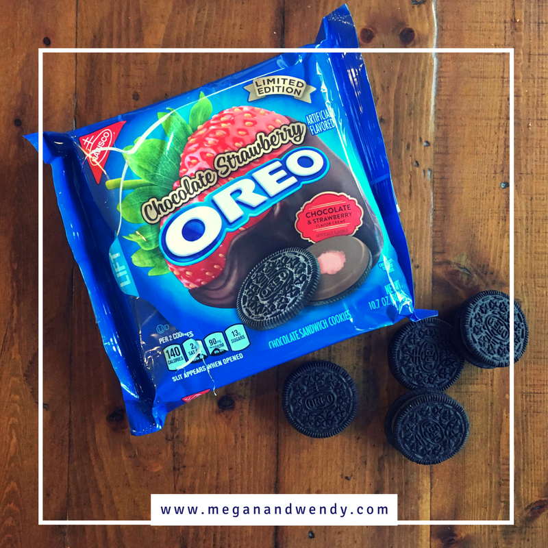 VIDEO: Megan and Wendy taste test the limited edition Chocolate Strawberry Oreo. What do you think about this flavor combination? Perfect for Valentine's Day or just too far for Oreo?