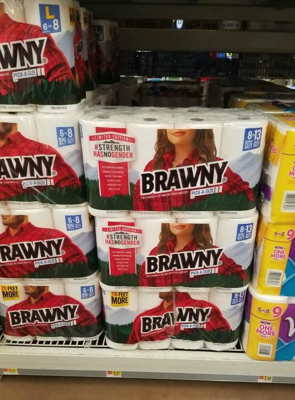 Brawny #StrengthHasNoGender