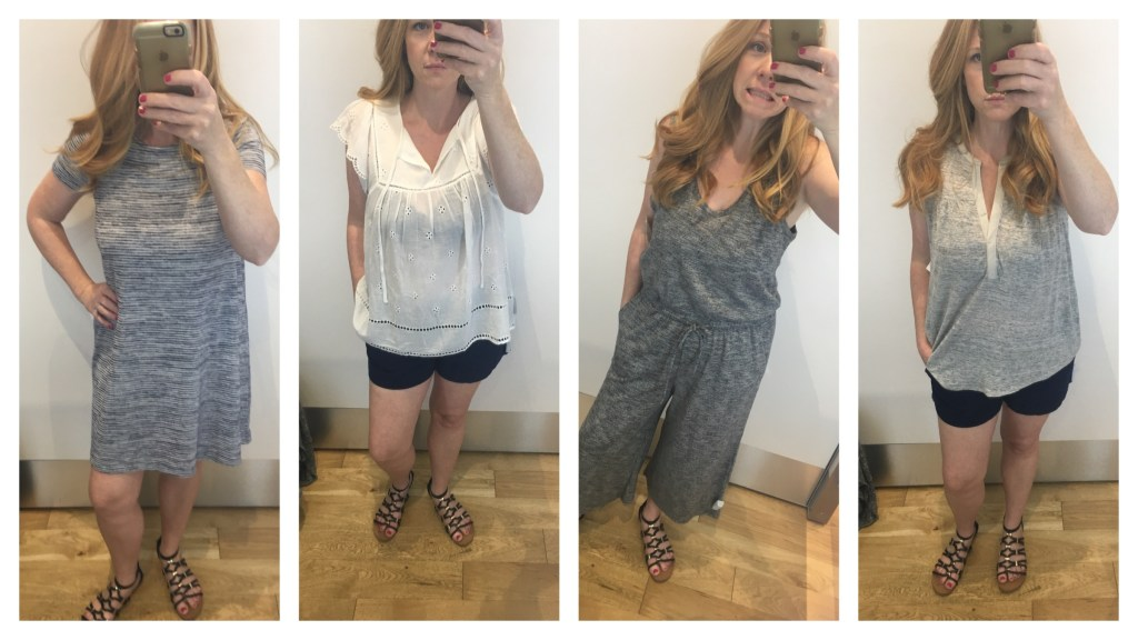 Spring and Summer Styles from the Gap - We tried them on!