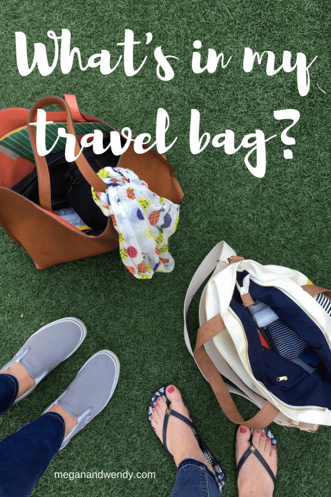What's in My Travel Bag?