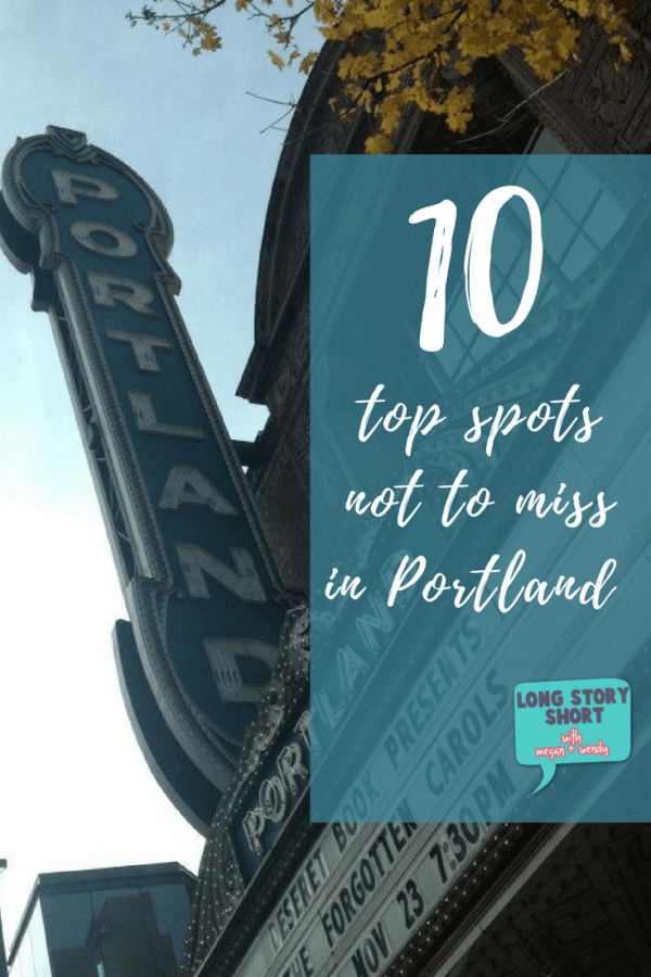 10 Places to Eat in Portland Oregon: From sweet to savory and all family friendly. Plus, a few tips on hotels and sights to see!