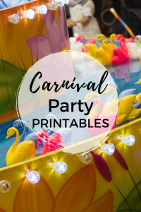 Carnival Party Printables - Make your next kids party a smash with these adorable carnival party printables.