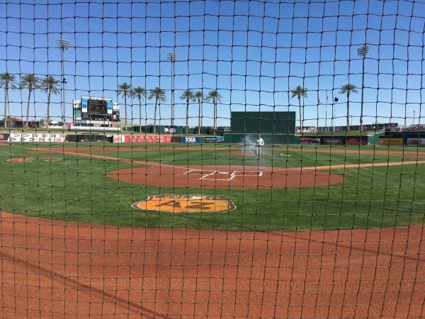 Goodyear Ballpark   Cleveland Indians, Cincinnati Red pre-season baseball, Spring Training