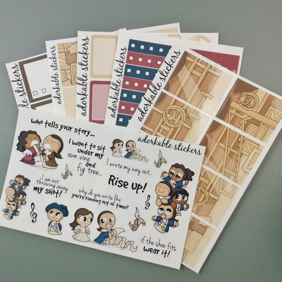 My Shot Planner Kit - Hamilton Planner Stickers