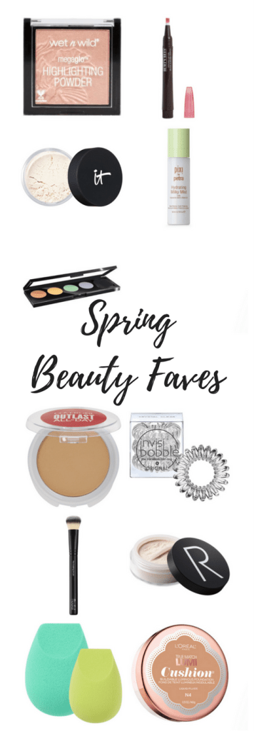 Spring Beauty Favorites- We're sharing our favorites in beauty for spring. We've included the makeup, skincare and hair accessories that we just can't live without!