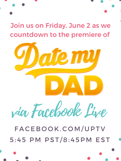 Date My Dad Facebook LIVE pre-show with Megan and Wendy