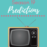 Big Brother Season 19 Predictions PRINTABLE