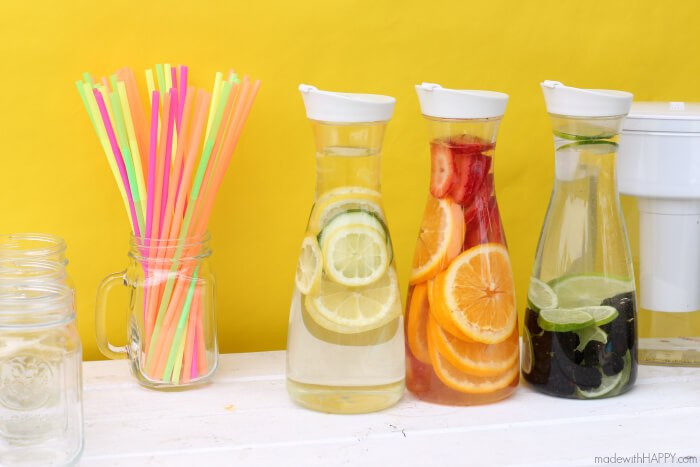 Fruit Infused Water from Made with Happy