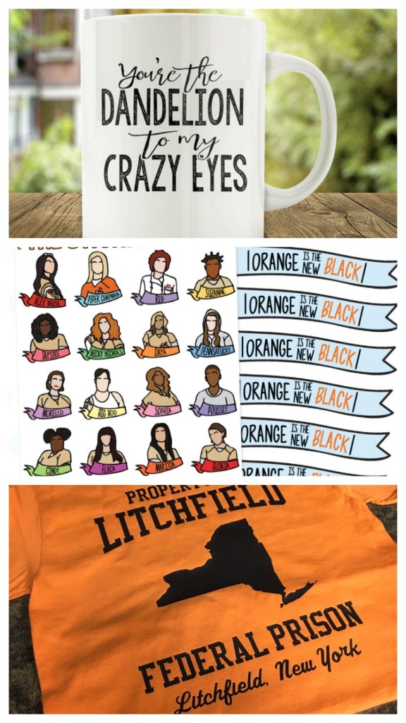 Orange is the New Black  - The best OITNB merchandise out there! Planner stickers, shirts and mugs!