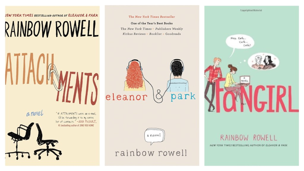 Rainbow Rowell Favorites - The Ultimate Guide to Summer Binge Reading