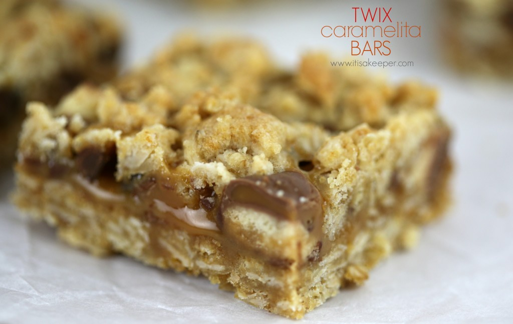 Twix Caramelita Bars | Easy Summer Desserts - 5 recipes to satisfy your summer sweet tooth! Bonus: Most are no-bake and can be taken with you to any summer occasion! | #summerdesserts #easydesserts #nobakedesserts