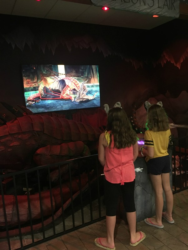MagiQuest Dragon at Great Wolf Lodge