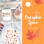 Pumpkin Spice Planner Stickers