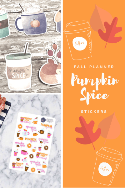 Fall is here! We've put together the cutest pumpkin spice themed planner stickers for all you Erin Condren and Happy Planner addicts! Come see what we're swooning over and how to save $10 on your next planner sticker order from Etsy!