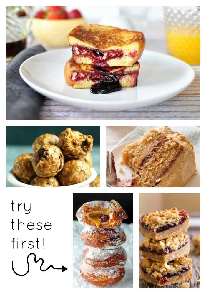 5 Delicious Peanut Butter and Jelly Recipes - Do you love the classic combination of peanut butter and jelly? We've found five recipes that incorporate those flavors with the bonus that none of them are sandwiches!