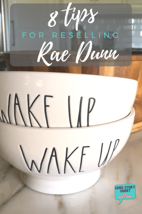 Are you a Rae Dunn collector? Have you considered reselling Rae Dunn for profit? We're sharing eight tips on how to successfully sell your Rae Dunn pottery.